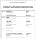 April 19 ONDNA Meeting Agenda